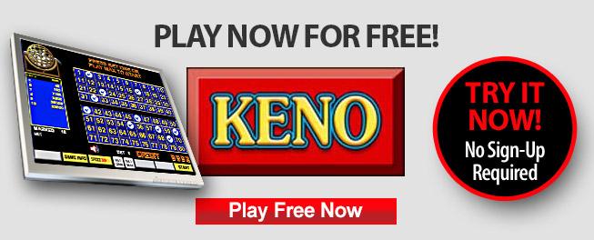 Keno games play free